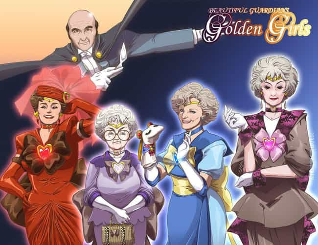 The Golden Girls is listed (or ranked) 3 on the list 23 Of Your Favorite Smash-Hit TV Franchises, Anime Style