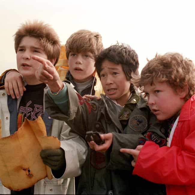 The Goonies is listed (or ranked) 3 on the list The '80s Movies That Stuck with You the Most