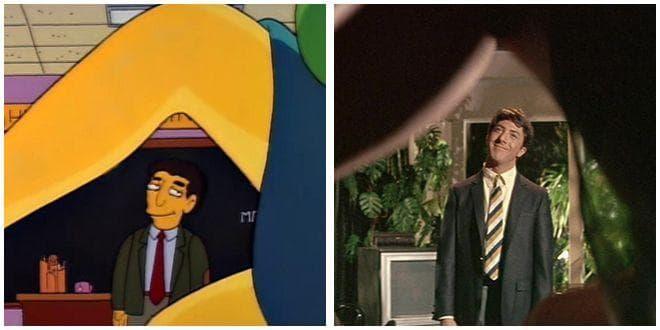 Random 'Simpsons' Movie Parodies You Probably Missed As A Kid