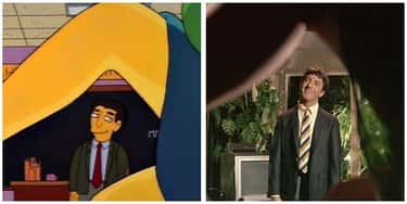 'The Graduate' - 'Lisa's Subst is listed (or ranked) 1 on the list 'Simpsons' Movie Parodies You Probably Missed As A Kid, Ranked