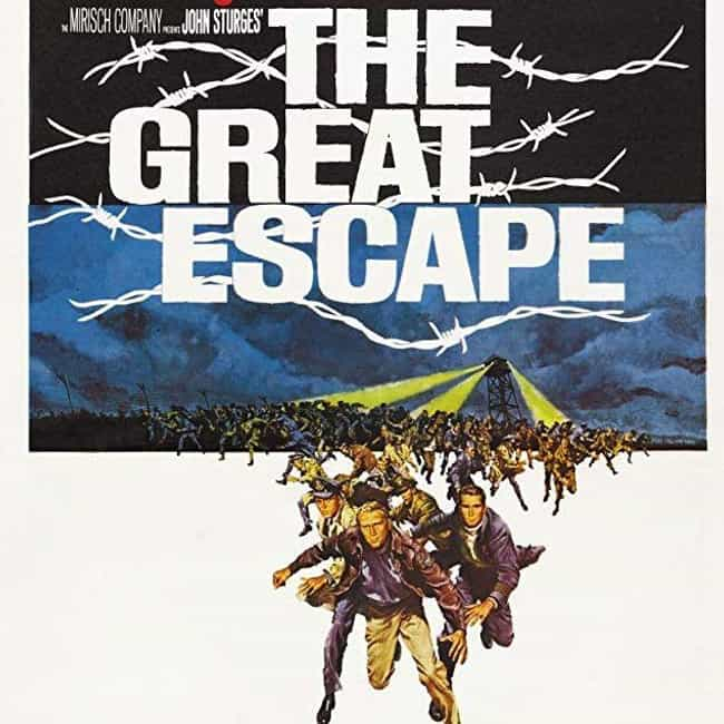 The Great Escape is listed (or ranked) 4 on the list Movies Written By James Clavell