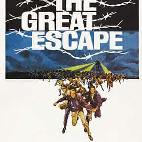 The Great Escape is listed (or ranked) 4 on the list The Best Military Movies Ever Made