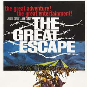 The Great Escape is listed (or ranked) 4 on the list The Best Movies of the '60s