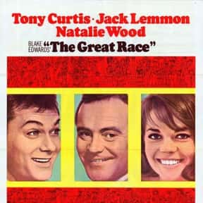 The Great Race is listed (or ranked) 5 on the list The Best Comedy Movies of the 1960s