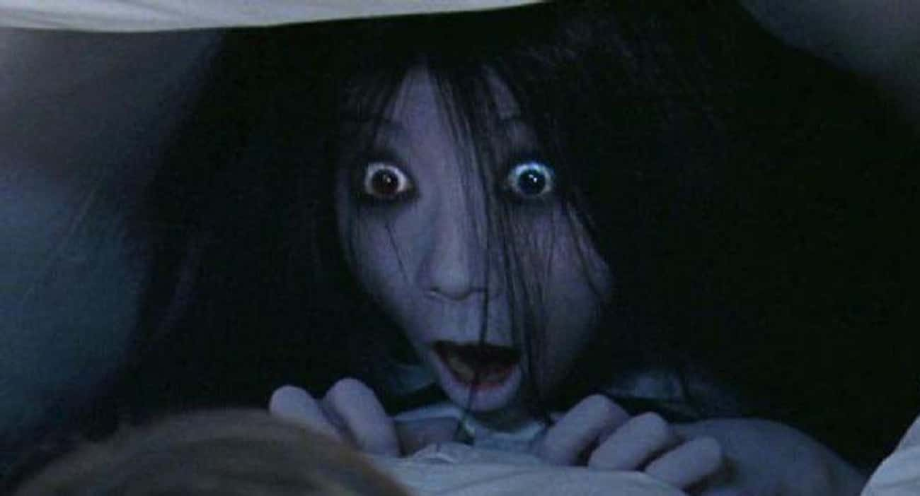 The Grudge is listed (or ranked) 4 on the list Non R-Rated Horror Movies As Scary As Anything