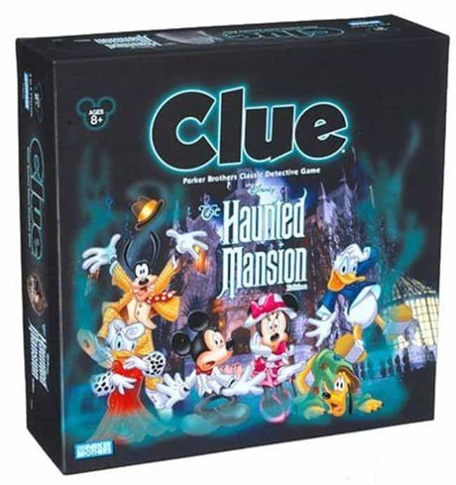 The Haunted Mansion is listed (or ranked) 4 on the list The Best Editions of Clue