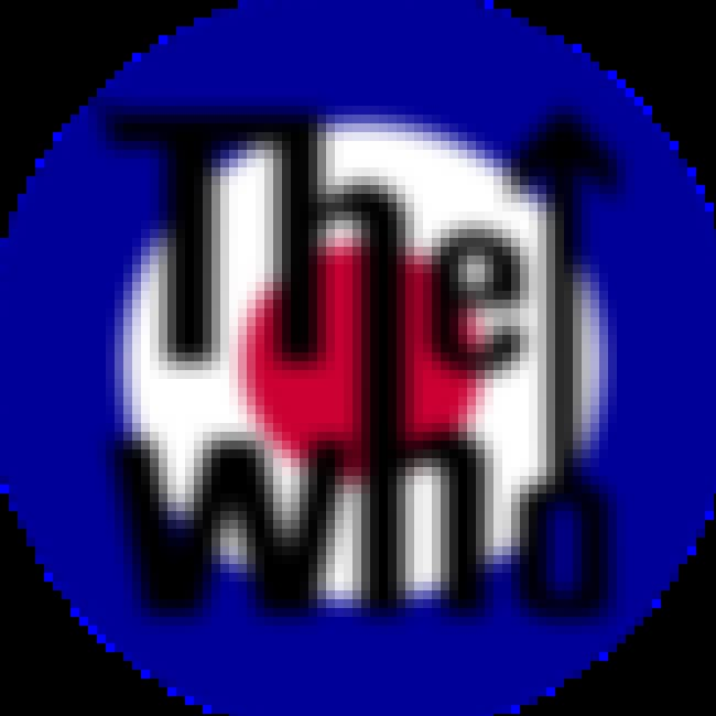The Who is listed (or ranked) 4 on the list The Greatest Rock Band Logos of All Time