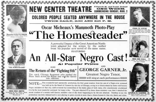 The Homesteader is listed (or ranked) 1 on the list The Life Of Oscar Micheaux - The First African American To Direct And Produce A Feature Film
