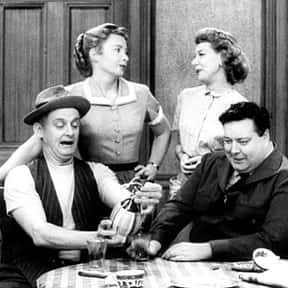 The Honeymooners is listed (or ranked) 8 on the list The Greatest TV Shows of the 1950s
