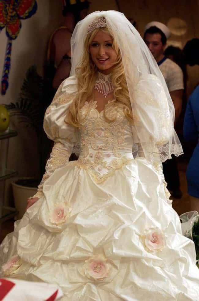 The Hottie and the Nottie is listed (or ranked) 4 on the list The Worst TV And Movie Wedding Dresses