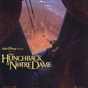 The Hunchback of Notre Dame is listed (or ranked) 25 on the list Musical Movies With the Best Songs