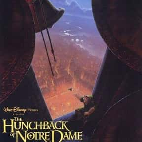 The Hunchback of Notre Dame is listed (or ranked) 17 on the list The Best Animated Films Ever