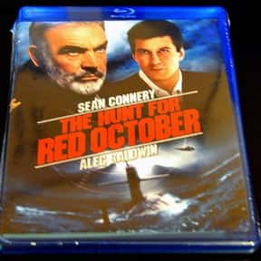 The Hunt for Red October is listed (or ranked) 4 on the list The Best R-Rated Political Thriller Movies