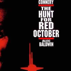 The Hunt for Red October is listed (or ranked) 10 on the list The Best Thriller Movies of the 1990s
