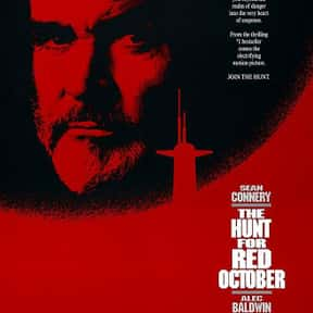 The Hunt for Red October is listed (or ranked) 10 on the list The Best Spy Movies Based on Books