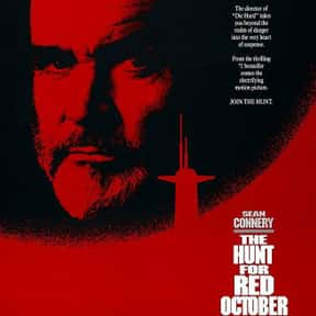 The Hunt for Red October is listed (or ranked) 13 on the list The Best Military Movies Ever Made