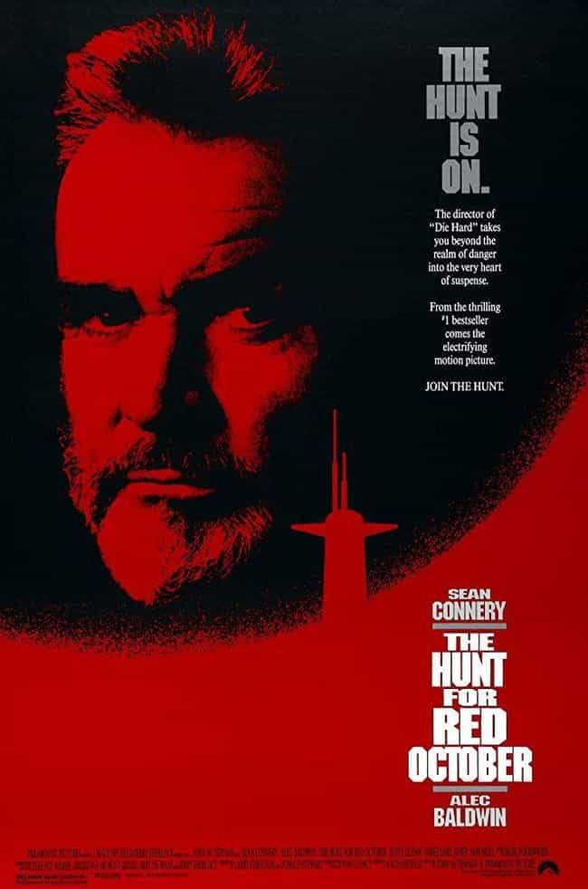 The Hunt for Red October is listed (or ranked) 1 on the list The Best Movies (and Series) in the Jack Ryan Franchise, Ranked