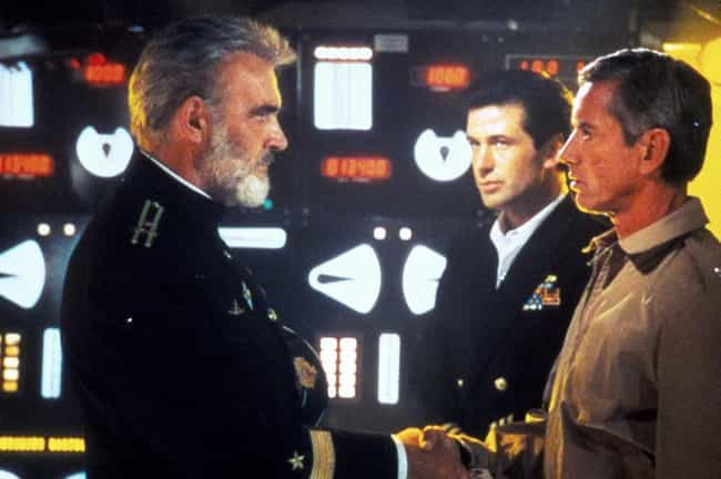 The Hunt for Red October... is listed (or ranked) 3 on the list Movies That Take Place Primarily Underwater, Ranked