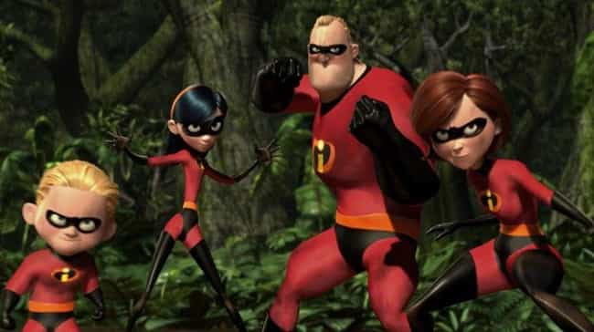 The Incredibles is listed (or ranked) 2 on the list 14 Animated Films That Were Better Than That Year's Best Picture Oscar Winner