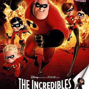 The Incredibles is listed (or ranked) 6 on the list The Best Movies for Families
