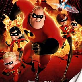 The Incredibles is listed (or ranked) 19 on the list The Best CGI Kids Movies