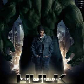The Incredible Hulk is listed (or ranked) 1 on the list The Best PG-13 Fantasy Movies