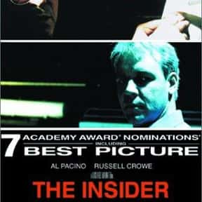 The Insider is listed (or ranked) 21 on the list The Best Rip Torn Movies of All Time, Ranked