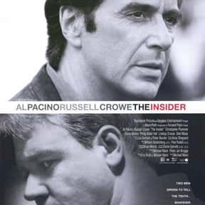 The Insider is listed (or ranked) 15 on the list The Best Al Pacino Movies