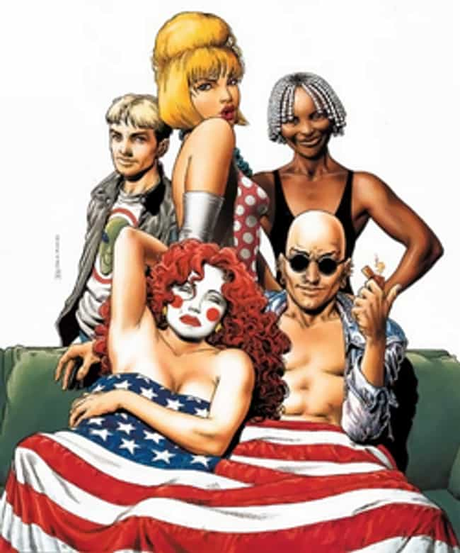 The Invisibles is listed (or ranked) 4 on the list Adult Comic Book Series That Were Definitely Not Made For Children