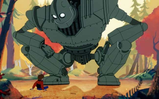 The Iron Giant is listed (or ranked) 2 on the list 15 Great Movies Under 90 Minutes That You Can Watch On Netflix Right Now