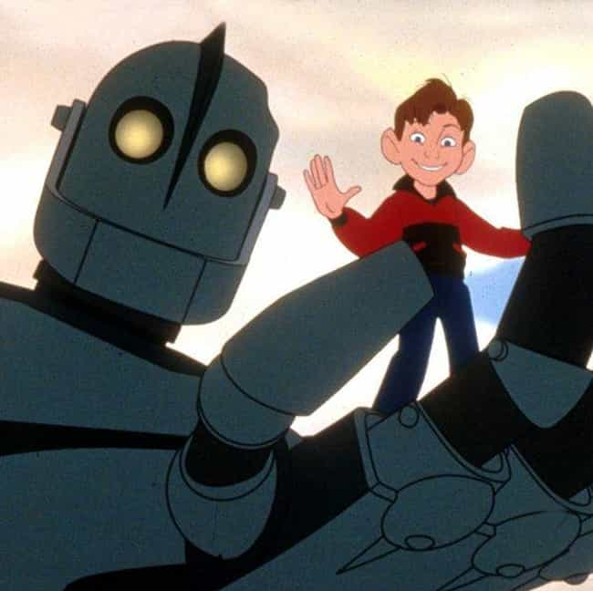 The Iron Giant is listed (or ranked) 1 on the list Special Effects We Wish Were Real