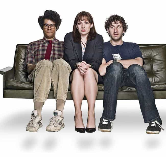 The IT Crowd is listed (or ranked) 3 on the list The Best TV Series With Life Lessons