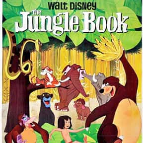 The Jungle Book is listed (or ranked) 9 on the list The Greatest Animal Movies Ever Made