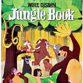 The Jungle Book is listed (or ranked) 13 on the list The Best Disney Animated Movies