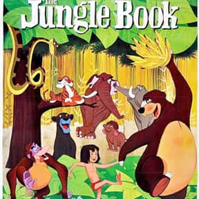 The Jungle Book is listed (or ranked) 5 on the list The Best Movies for Families