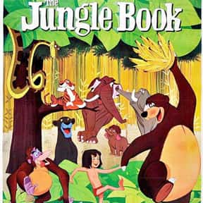 The Jungle Book is listed (or ranked) 12 on the list The Best Movies for 3-Year-Olds