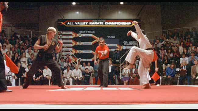 The Karate Kid is listed (or ranked) 2 on the list Oscar-Nominated Movies with Plot Holes You Can't Unsee