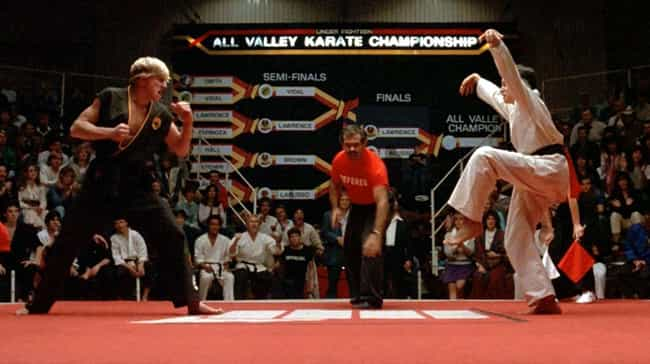 The Karate Kid is listed (or ranked) 8 on the list '80s Movie Fan Theories