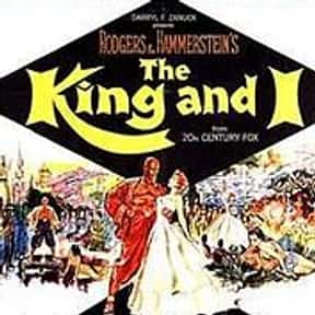 The King and I is listed (or ranked) 19 on the list Musical Movies With the Best Songs
