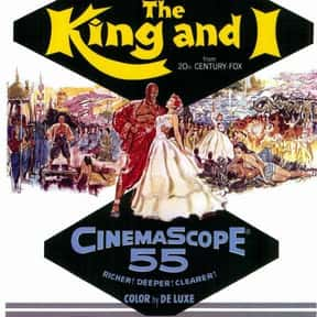 The King and I is listed (or ranked) 6 on the list The Very Best Classic Musical Movies, Ranked