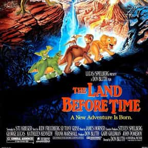 The Land Before Time is listed (or ranked) 6 on the list Animated Movies That Make You Cry the Most