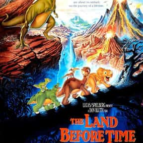 The Land Before Time is listed (or ranked) 2 on the list The Greatest Dinosaur Movies Ever