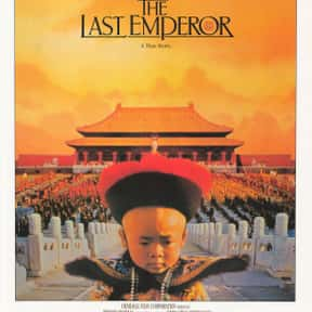 The Last Emperor is listed (or ranked) 7 on the list Every Oscar Winning Film Ever