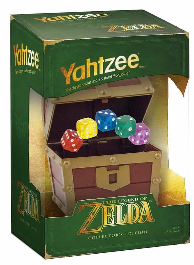 The Legend of Zelda is listed (or ranked) 3 on the list The Best Editions of Yahtzee