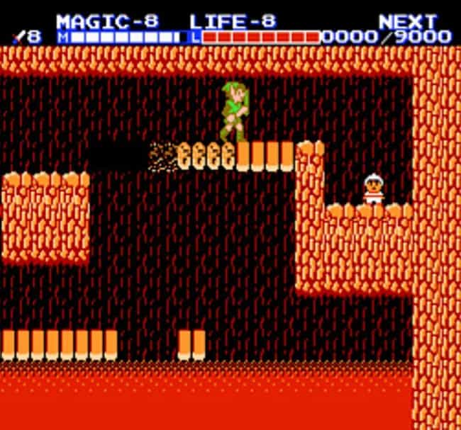 Zelda II: The Adventure of Lin... is listed (or ranked) 4 on the list Bad Video Games You Played as a Kid Because You Didn't Know Any Better