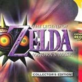 The Legend of Zelda: Majora's  is listed (or ranked) 18 on the list The 100+ Best Video Games of All Time, Ranked by Fans