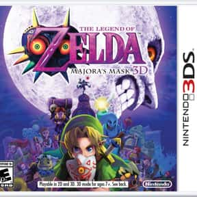 The Legend of Zelda: Majora's  is listed (or ranked) 4 on the list The Best Nintendo 3DS Games of All Time, Ranked by Fans