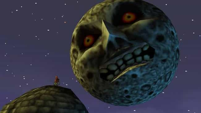 The Legend of Zelda: Majora's ... is listed (or ranked) 4 on the list If You Played These Video Games As A Kid, You're Probably A Pretty Messed Up Person