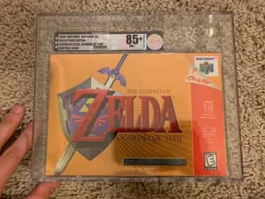 The Legend Of Zelda: Ocarina O is listed (or ranked) 1 on the list The Most Ridiculously Valuable Nintendo 64 Games