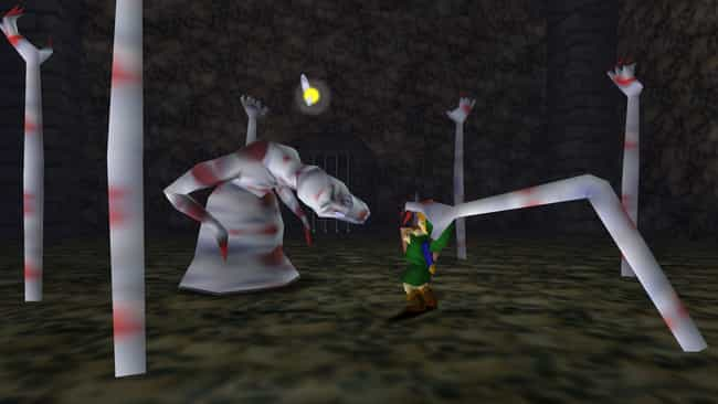 The Legend of Zelda: Ocarina o... is listed (or ranked) 1 on the list The Creepiest Things In Your Favorite Childhood Video Games